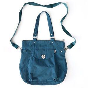 Baggallini Teal Blue Large Crossbody Shoulder Bag